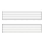 Белая полоса (напыление) ХZ-32604 Кромка д/МДФ УФ (22х1,3)
