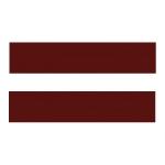 Бордовый Polk N81B  Кромка (42х2) Polkemic